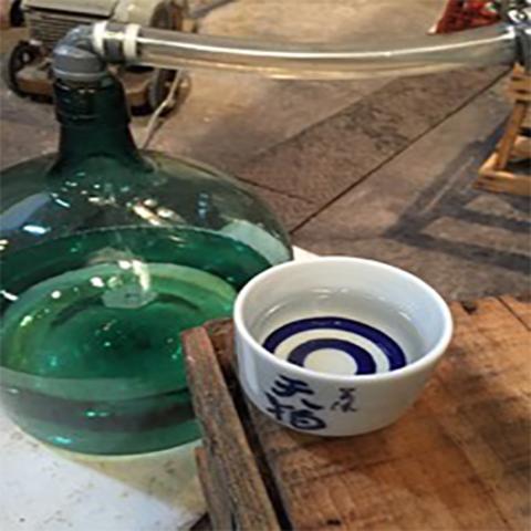 岐阜県可児市 林酒造の様子