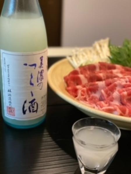 美濃天狗 純米にごり 美濃のつらら酒 1.8L×1本
