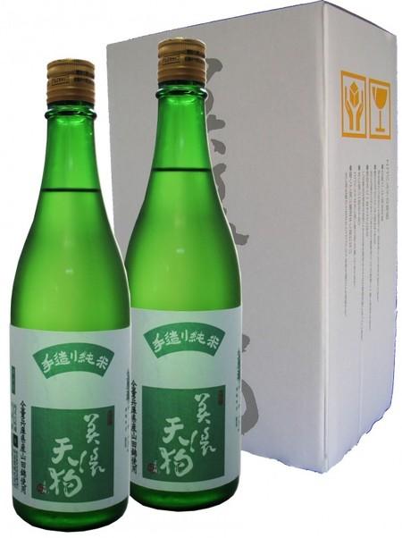 美濃天狗 手造り純米生原酒720ml 2本セット