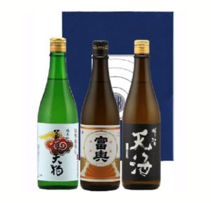 美濃天狗 【秋酒3本】 純米吟醸 冷卸/純米 天海/ 富輿 720mlセット