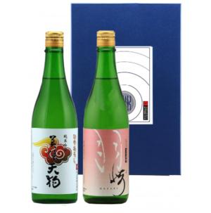 美濃天狗 【秋酒2本】純米吟醸 冷卸/純米 羽崎 720mlセット