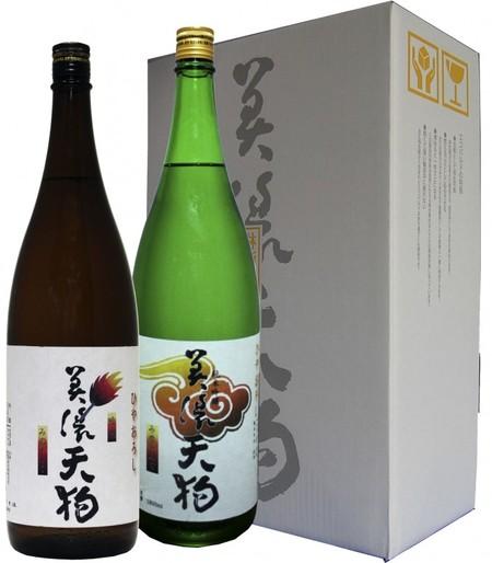 美濃天狗 純吟・吟醸 冷卸 1.8L2本セット