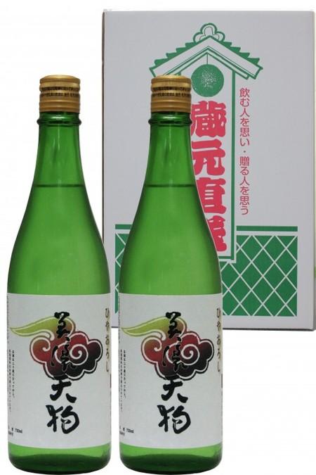 美濃天狗 純米吟醸 ひやおろし 720ml×2本セット