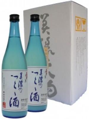 純米にごり 美濃のつらら酒 720ml 2本セット