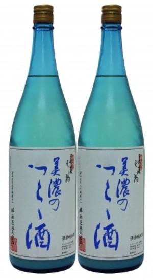 美濃天狗 純米にごり 美濃のつらら酒1.8L×2本